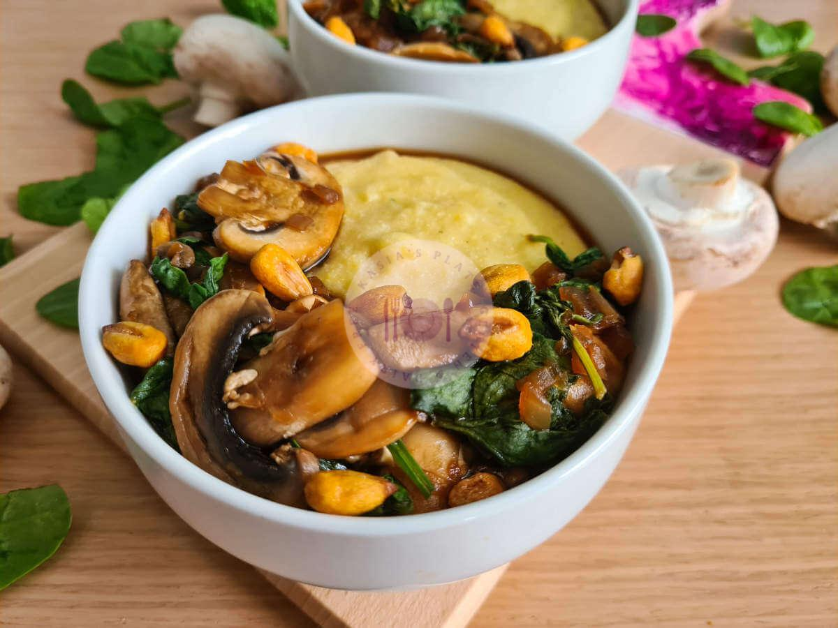 Mushrooms & Polenta