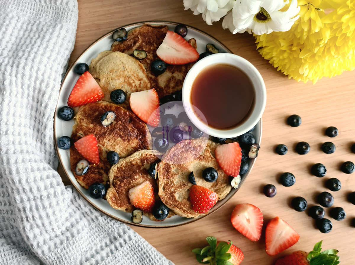 Read more about the article Vanilla protein pancakes