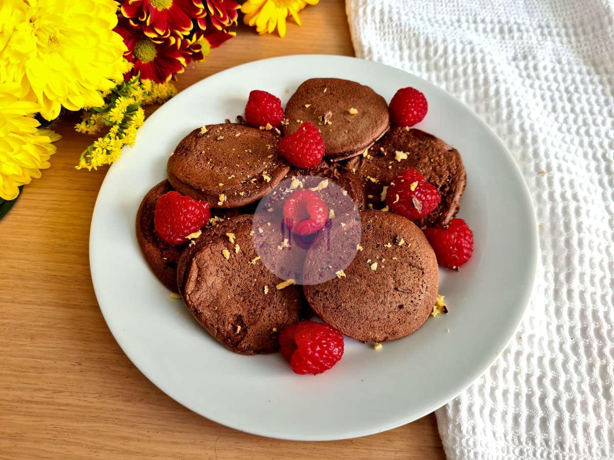 Almond Chocolate Pancakes