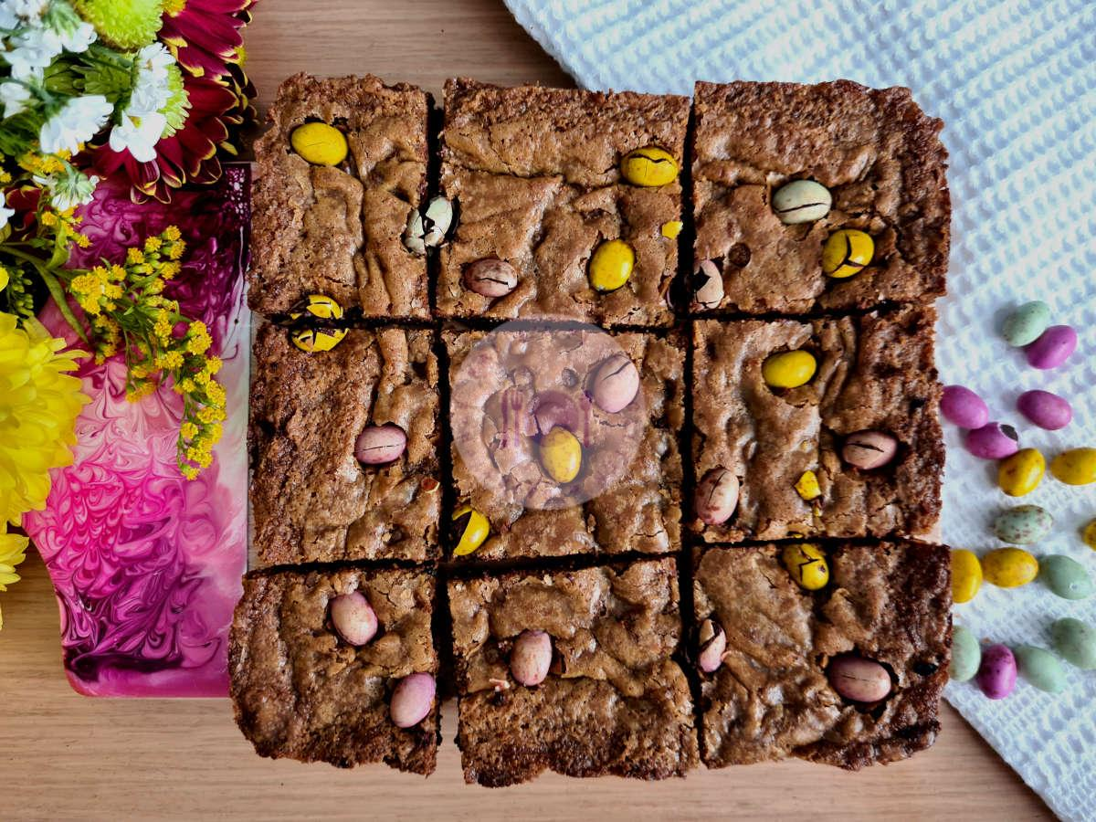 Easter Cookie Squares