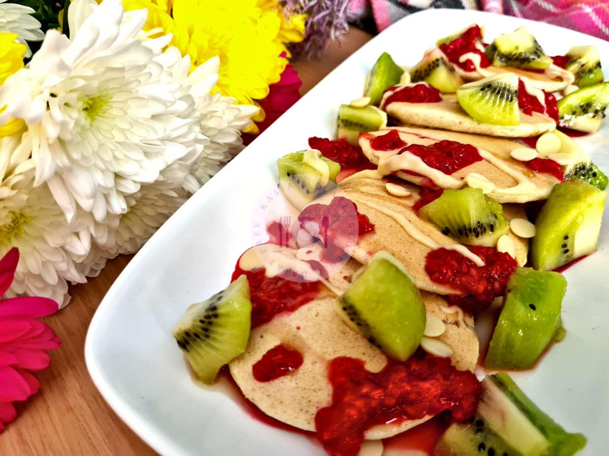 Read more about the article Healthier Yoghurt Pancakes