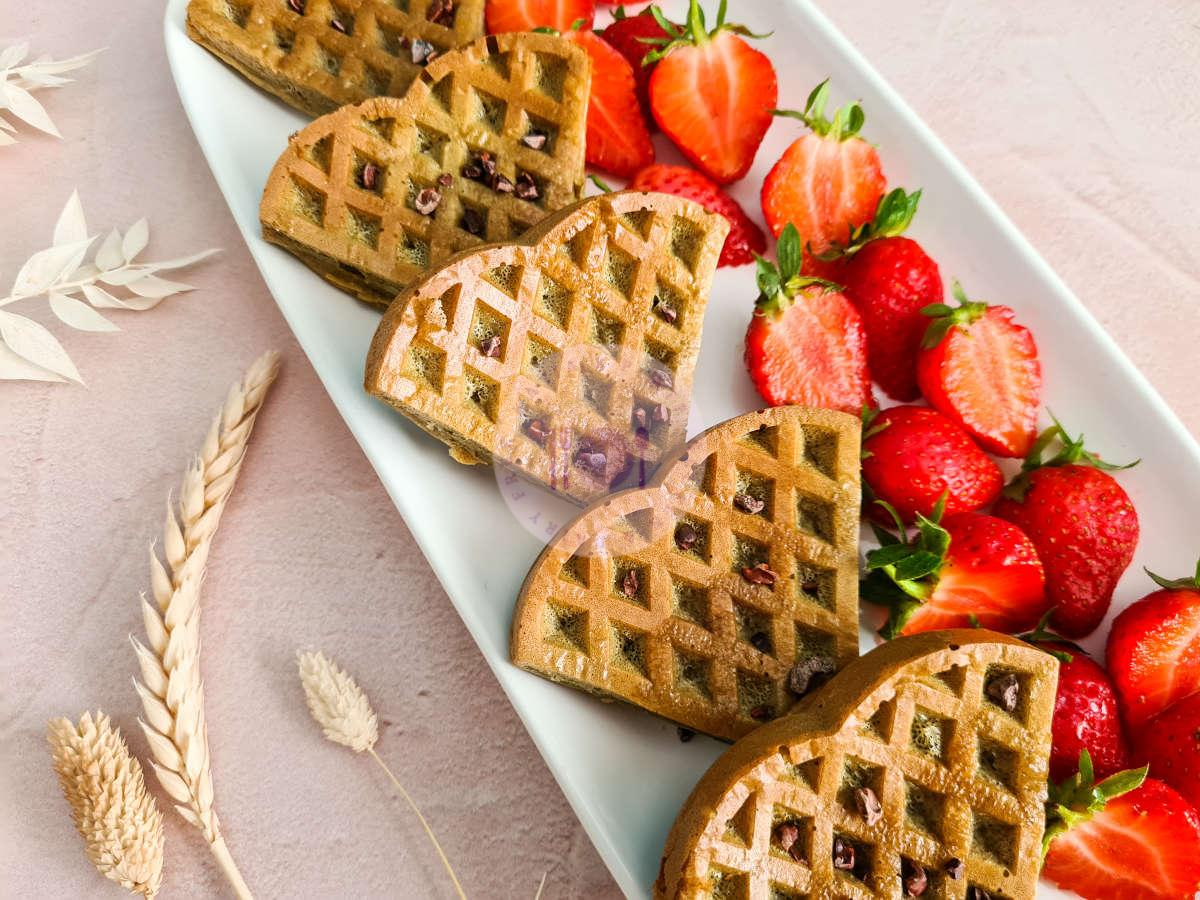 Read more about the article Vanilla Oat Protein Waffles