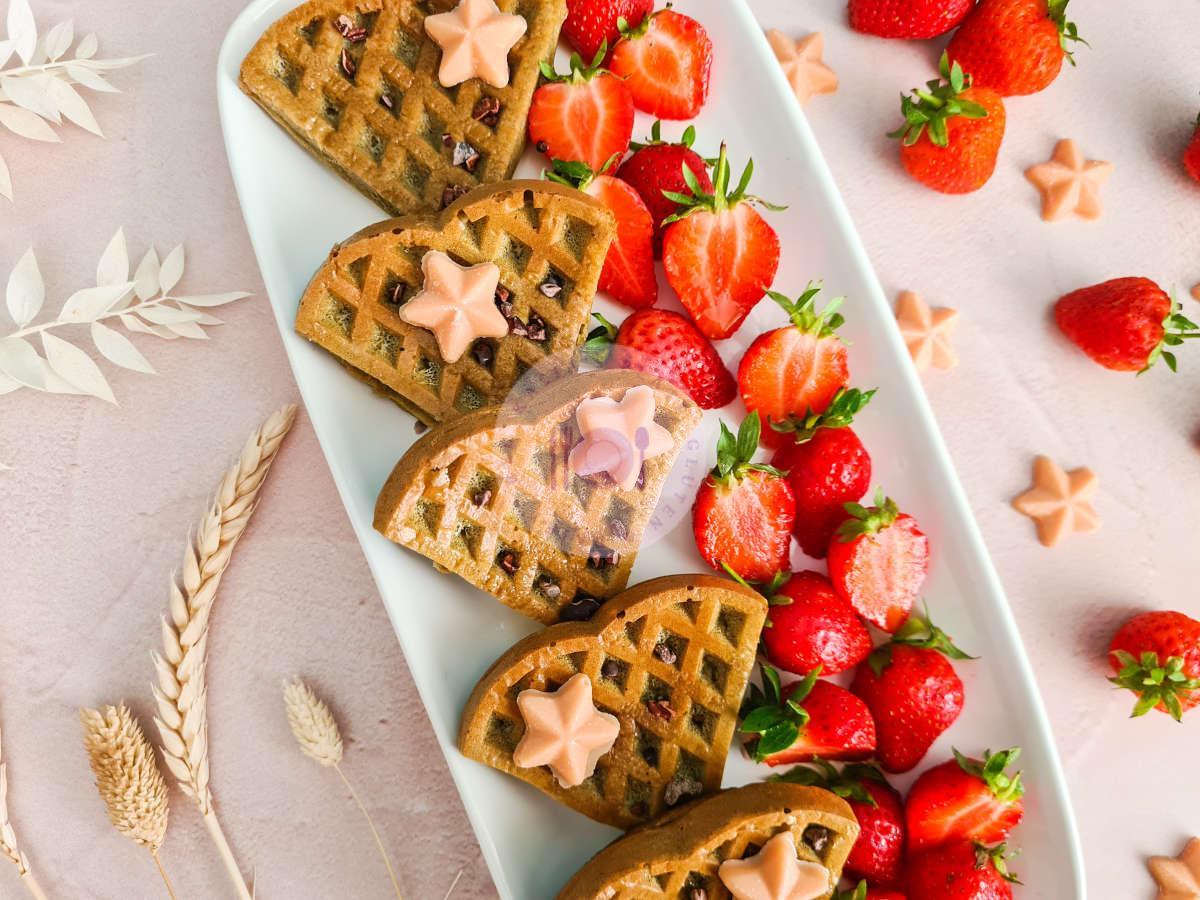 vanilla-oat-protein-waffles-stars